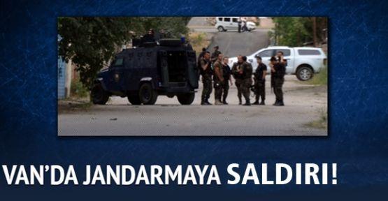Van'da Jandarmaya Roketatarlı Saldırı!