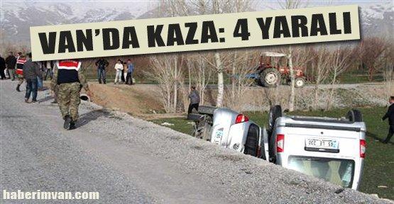 Van'da Kamyonetle Otomobil Çarpıştı - Van Haberleri