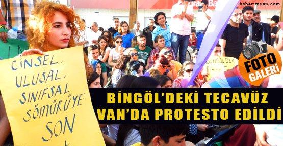 "Van'da ""Tecavüz"" Protestosu"