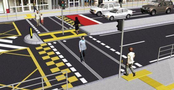 Van'da Trafik Işıkları Artık Engelli Vatandaşlar İçin Konuşacak