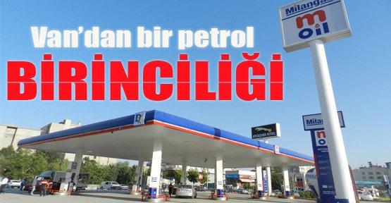Van'dan bir petrol birinciliği