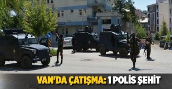 (Video Haber) Van'da Çatışma 1 Şehit!