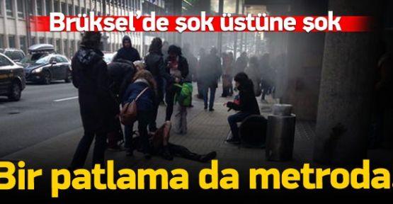 (VİDEOLU HABER) Brüksel'de 3. Patlama Şoku! Ölü Sayısı Arttı!