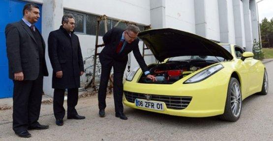 Yerli elektrikli otomobil Etox