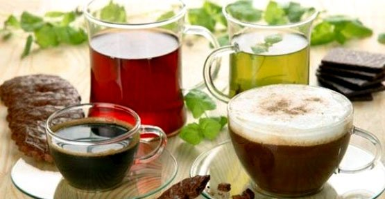 Yeşil Çay Ve Kahve Felç Riskini Azaltıyor