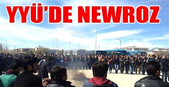 Yyü'de Newroz Kutlaması - Van Haberleri