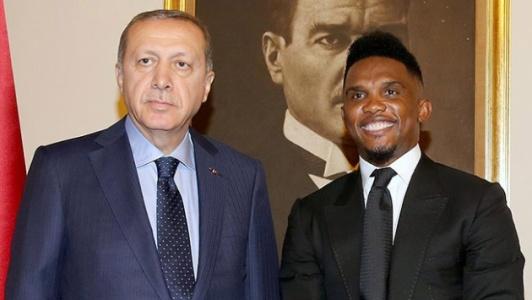 Samuel Eto'o'dan Fransızlara Tokat Gibi Erdoğan Yanıtı!