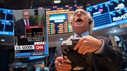 CNN Duyurdu: Türkiye İle Savaş ABD Borsalarını Batırdı!