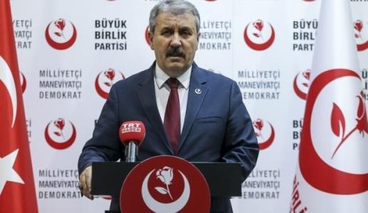 BBP Lideri Destici'den Sert Açıklama: HDP İdamı Hak Ediyor!