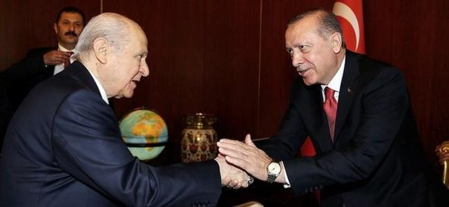 """Bahçeli'den Erdoğan'a İttifak Teklifi! """"Siyasi Kombin Yapabiliriz"""""""