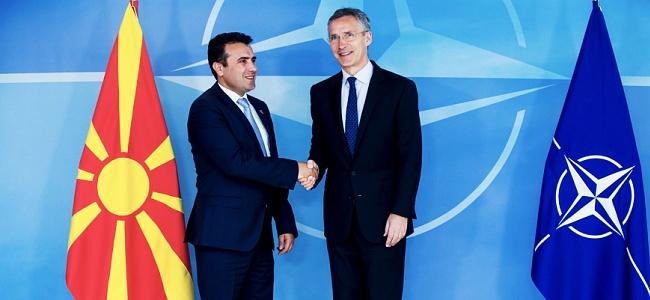 Yunanistan'dan Makedonya'nın NATO üyeliğine onay