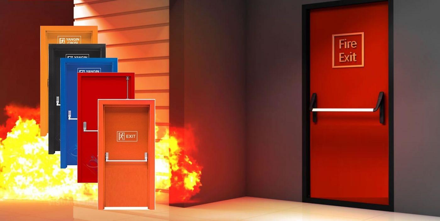 İzmir Yangın Kapısı