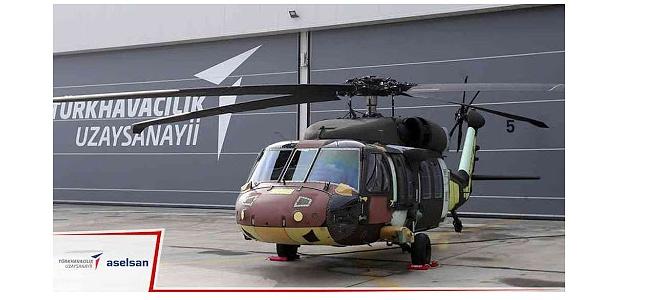 Orman Yangınlarıyla Mücadelede Yerli Helikopter Atağı