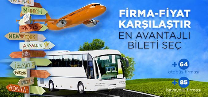 Ucuz Otobüs Seferleri İçin Otobüs Bileti Farkvar.com