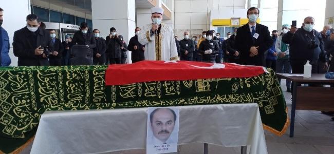 Koronadan ölen hastane personeli için tören