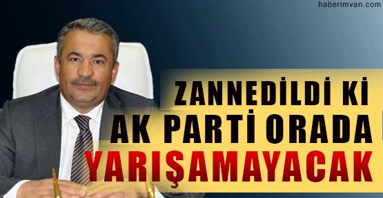 Abdullah Aras: Zannedildi Ki Ak Parti Orada Yarışa Giremeyecek