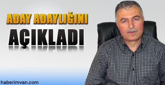Abdulmenaf Keyifli Aday Adaylığını Açıkladı