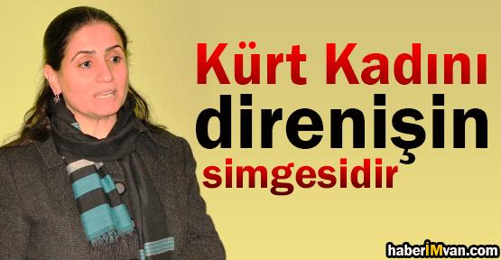 Aygül Bidav: Kürt Kadını Direnişin Simgesidir