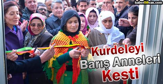 Barış Anneleri BDP Tuşba Seçim Bürosunu Açtı