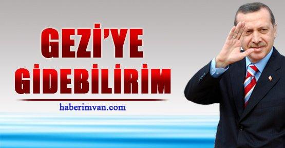 Başbakan Erdoğan Gezi Parkı'na Mı Gidiyor?