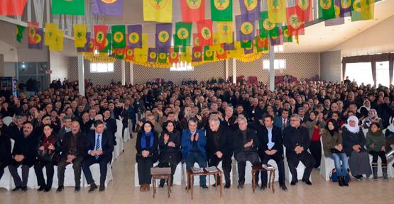 BDP Tuşba İlçe 1. Olağan Kongresini Gerçekleştirdi