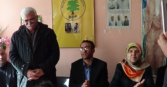BDP'li Eş Başkanlar'dan Esnaf Ziyareti