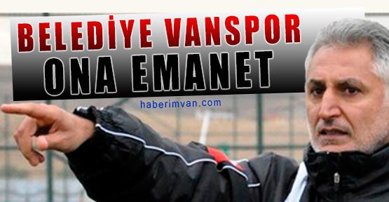 Belediye Vanspor Yeni Teknik Direktörü İle Anlaştı
