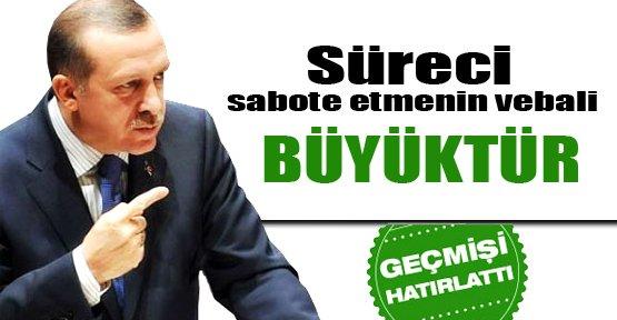 Erdoğan Çözüm Sürecini Değerlendirdi