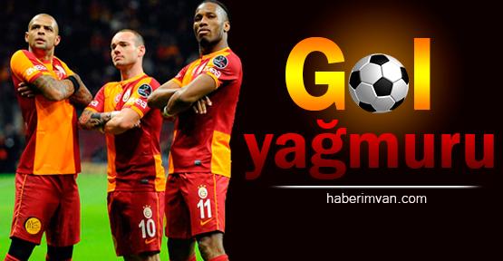 Galatasaray Bursaspor Maçında Gol Yağmuru