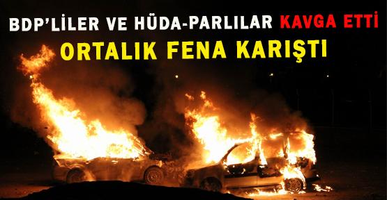 Hüda-Par'lılar İle BDP'liler Kavga Etti: 10 Yaralı
