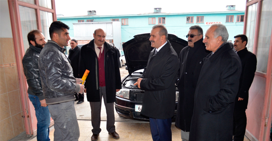 Kayatürk'ten Oto Sanayi Sitesine Ziyaret