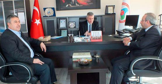 OSB ve YYÜ'den Gümrük Bölge Müdürü Şahin'e Ziyaret