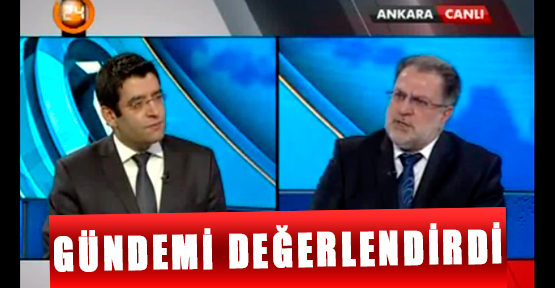 Osman Gülaçar Gündemi Kanal 24'e Değerlendirdi