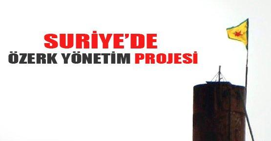 Rojava'da özerk yönetimin projesi