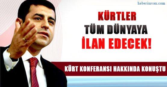 Selahattin Demirtaş Kürt Konferansı Hakkında Konuştu