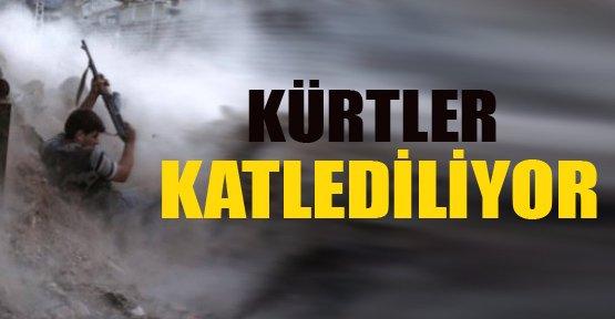 Silahlı çeteler sivil Kürtleri katlediyor