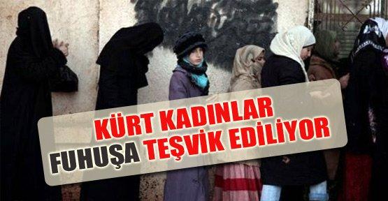 'Suriyeli Kürt kadınlar fuhuşa teşvik ediliyor'