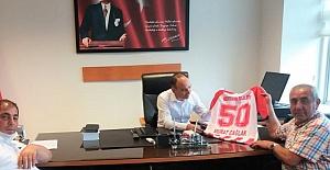 Savcı Murat Çağlak Nevşehir Belediyespor Yöneticilerini Ağırladı