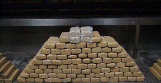 Van'da 117 kilo 746 gram eroin ele geçirildi