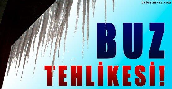 Van'da Buz Tehlikesi