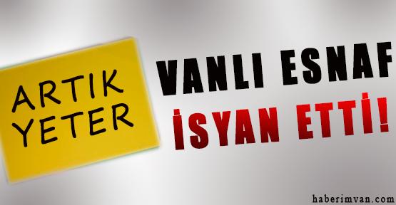 Van'da Esnafın Elektrik İsyanı
