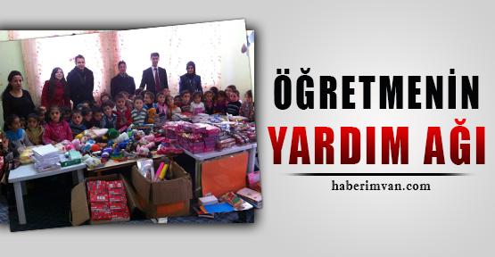 Van'da Öğretmen Yardım Ağı Kurdu