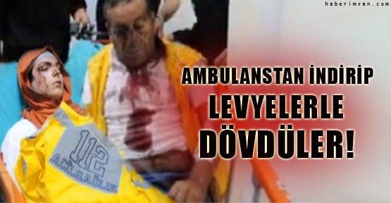 Van'da Sağlık Ekibine Levyelerle Saldırı