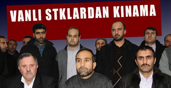 Van'daki STK'lardan Operasyona Kınama