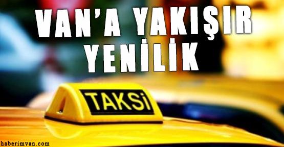Van'daki Ticari Taksiler Yenileniyor