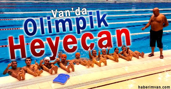 Vanlı Gençlerin Olimpik Havuz Heyecanı