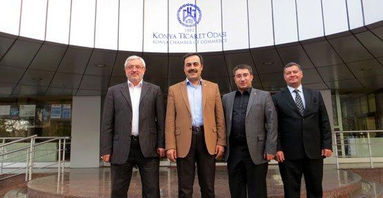 VATBO Başkanı Toprak'tan Konya'ya Ziyaret