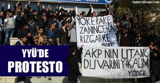YYÜ'de 32. Yıl Dönümünde Yök'e Protesto