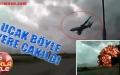 Uçağın yere çakılma anı kamerada